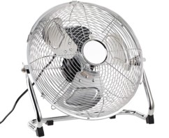 Ventilateur de sol en métal diamètre 30 cm