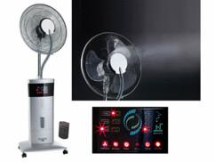 Ventilateur vaporisateur sur pied