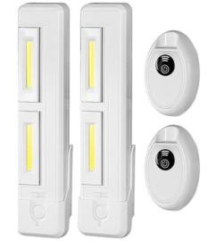 2 réglettes LED orientables et télécommandées LCL-28.rc