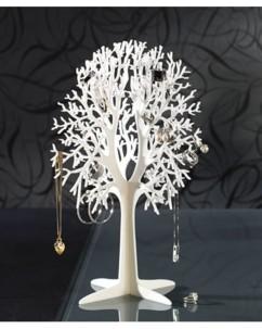 Arbre à bijoux en acrylique
