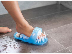 Brosse de soin et de massage des pieds