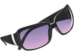 lunettes de soleil femme style butterfly papillon verres violets
