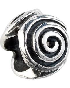 Perle en argent 925/1000 Spirale