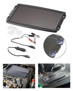 Chargeur solaire 12 V / 2,4 W pour batterie de voiture Revolt