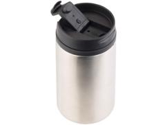 mug isotherme en inox avec clapet refermable pour thé et café capacité 280 ml rosenstein
