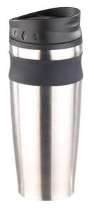 mug isotherme en inox avec clapet refermable pour thé et café capacité 45 cl rosenstein