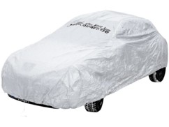 Housse de protection auto en polyester taille S, 406 x 165 x 119 cm