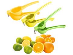 pack 3 presse agrumes 3 diametres pour citron agrumes oranges lime