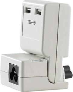 Parasurtenseur PC portable et USB connecteur 3 fiches C6