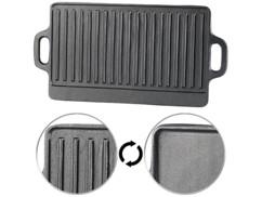 Plaque-gril de cuisson en fonte - 38 x 23 cm