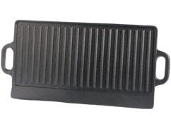 Plaque-gril de cuisson en fonte - 51 x 23 cm