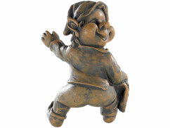 Troll ''Grimpeur'' décoratif en résine artificielle