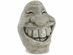 Visage décoratif ''Stone Smiley''