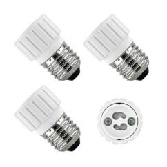4 convertisseurs de douilles - Culot E27 vers ampoule GU10