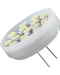 Ampoule 15 LED SMD G4 blanc froid