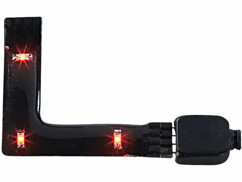 Angle pour module LED SMD - orange