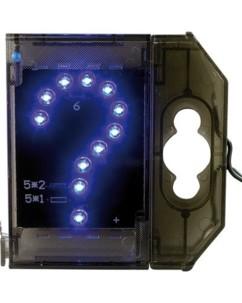 Caractère spécial lumineux à LED - '' ? '' bleu