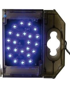 Caractère spécial lumineux à LED - '' @ '' bleu
