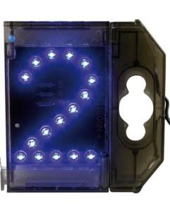 Chiffre lumineux à LED - ''2'' bleu