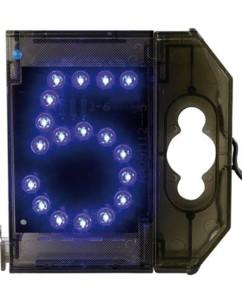 Chiffre lumineux à LED - ''5'' bleu