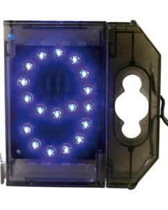 Chiffre lumineux à LED - ''9'' bleu