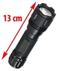 Lampe de poche aluminium à LED