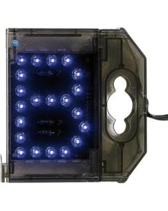 Lettre lumineuse à LED - ''B'' bleu