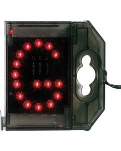 Lettre lumineuse à LED - ''G'' rouge