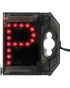 Lettre lumineuse à LED - ''P'' rouge