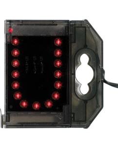 Lettre lumineuse à LED - ''U'' rouge