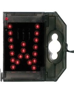 Lettre lumineuse à LED - ''W'' rouge