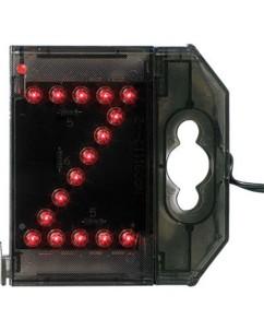 Lettre lumineuse à LED - ''Z'' rouge