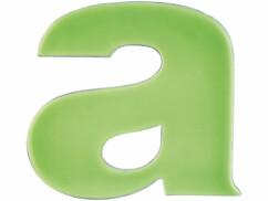 Lettre pour numéro de maison phosphorescent - ''A''