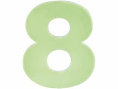 Numéro de maison phosphorescent - ''8''