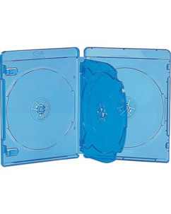 10 boîtiers quadruples pour disques Blu-ray