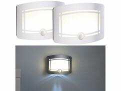 2 appliques LED sans fil à éclairage automatique WL-300 - Avec batterie