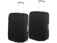 2 housses de protection élastiques pour valise jusqu'à 63 cm - Taille L