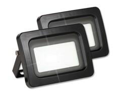2 mini projecteurs LED résistants aux intempéries 10 W