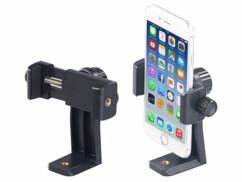 """2 supports de smartphone pour trépied avec filetage 1/4"""""""