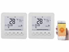 2 thermostats connectés pour chauffage au sol
