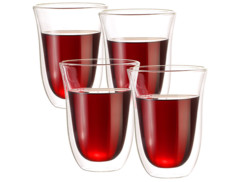 4 verres double paroi - 27 cl