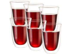6 verres double paroi - 27 cl