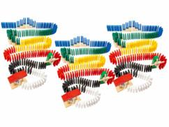 3 kits de dominos colorés 480 pièces