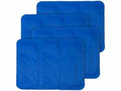 4 sur-oreillers rafraîchissants - 30 x 40 cm - Bleu