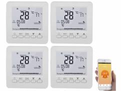 4 thermostats connectés pour chauffage au sol