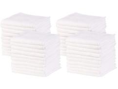 Lot de 40 serviettes démaquillantes en microfibres par Sichler Beauty.