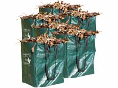 Lot de 6 sacs de jardin rectangulaires de 120 L.