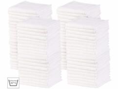 80 serviettes démaquillantes en microfibres