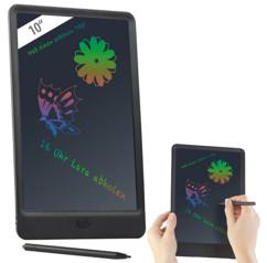ardoise numérique lcd couleur pour dessins et prises de notes avec fonctionnement à piles General Office