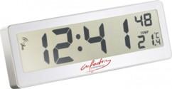 Horloge radio-pilotée compacte avec écran LCD